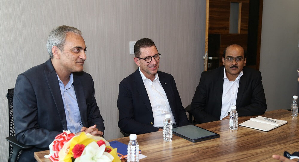 Schaeffler Top Brass Grace the Gurgaon Office